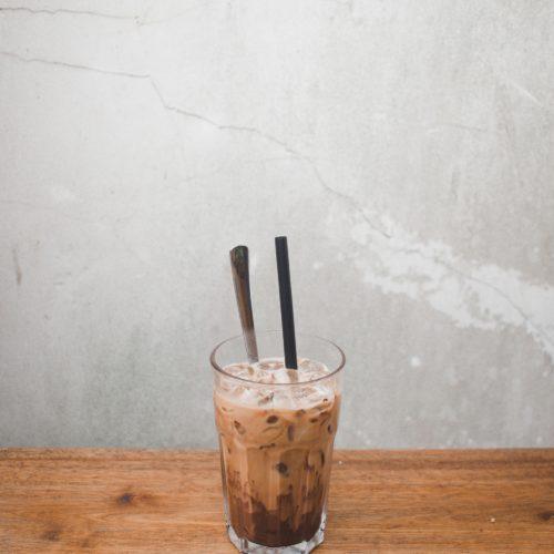 Oleang, oliang, oleng, thai black iced coffee