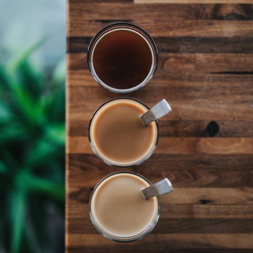 yuanyang Hong Kong style milk tea with coffee