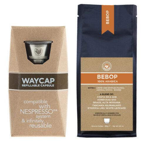 WayCap Basic Bebop - 1 capsule + coffee 250g