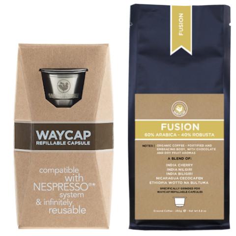 WayCap Basic Fusion - 1 capsule + coffee 250g