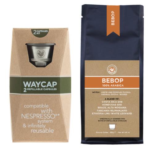 WayCap Complete Bebop - 2 capsules + coffee 250g