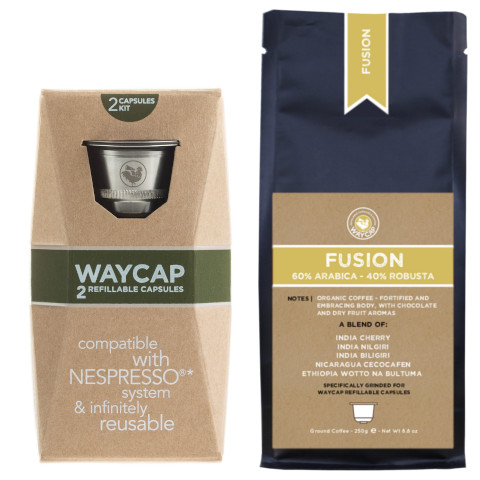 WayCap Complete Fusion - 2 capsules + coffee 250g